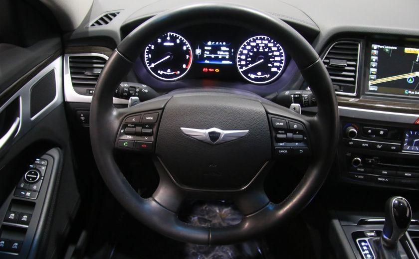 2015 Hyundai Genesis Premium AWD CUIR NAVIGATION CAMERA RECUL #12
