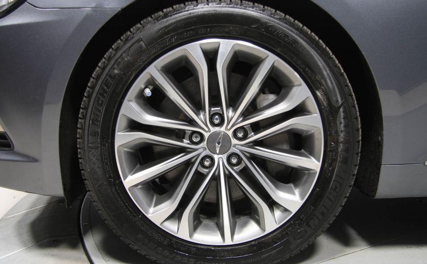 2015 Hyundai Genesis Premium AWD CUIR NAVIGATION CAMERA RECUL #31