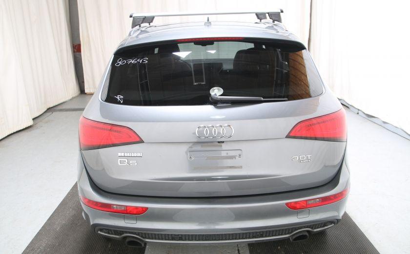 2013 Audi Q5 3.0L Premium AWD AUTO A/C CUIR TOIT MAGS CAMERA RE #4