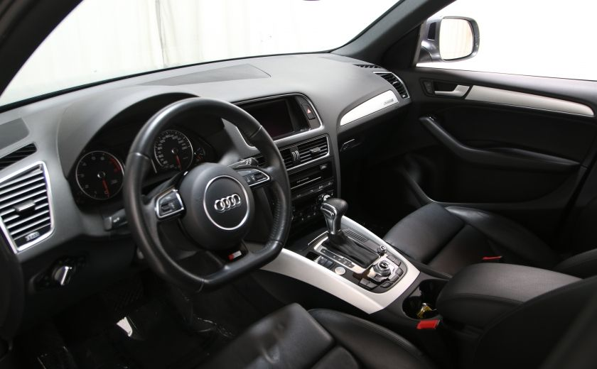 2013 Audi Q5 3.0L Premium AWD AUTO A/C CUIR TOIT MAGS CAMERA RE #10