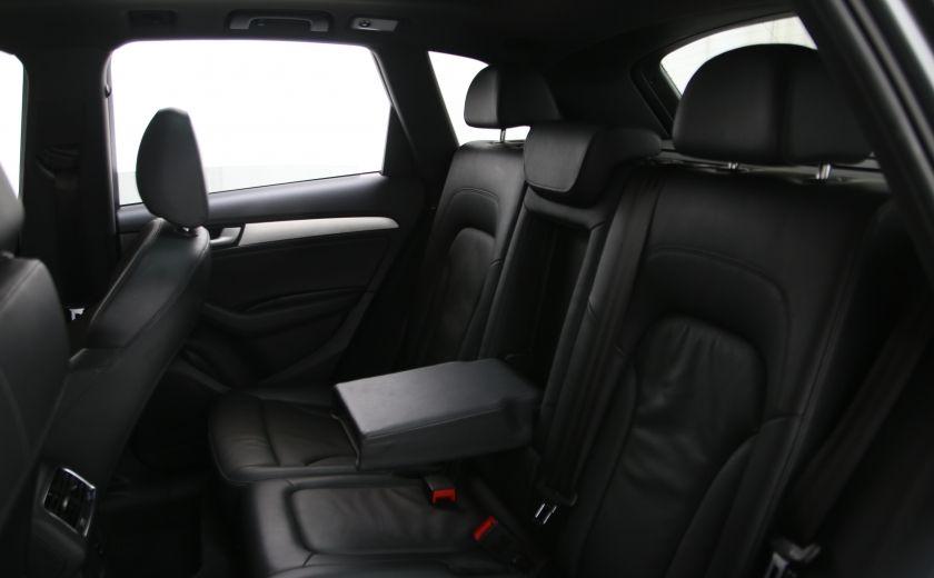 2013 Audi Q5 3.0L Premium AWD AUTO A/C CUIR TOIT MAGS CAMERA RE #17