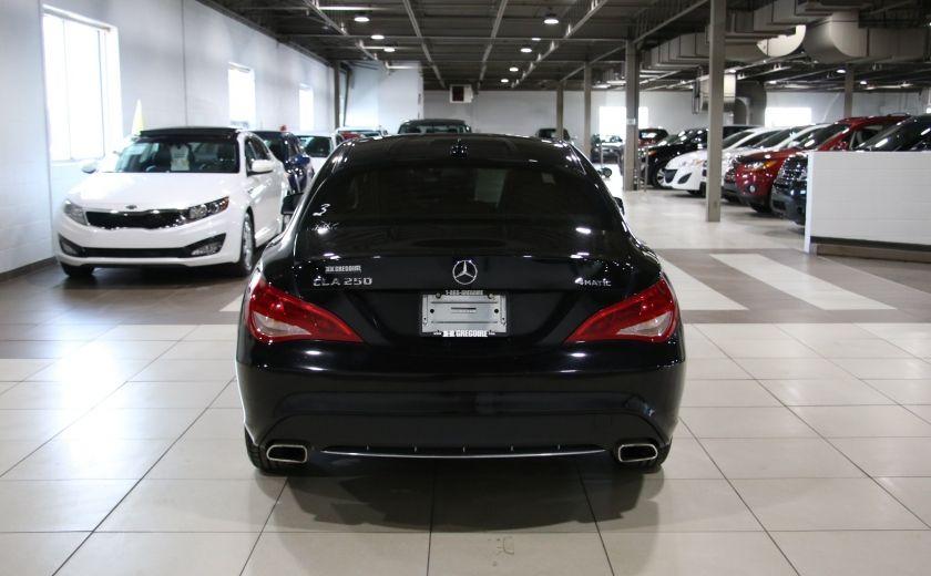 2016 Mercedes Benz CLA250 4MATIC CUIR GPS TOIT PANO #5