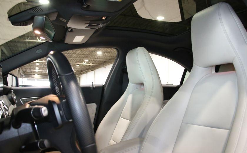 2016 Mercedes Benz CLA250 4MATIC CUIR GPS TOIT PANO #9