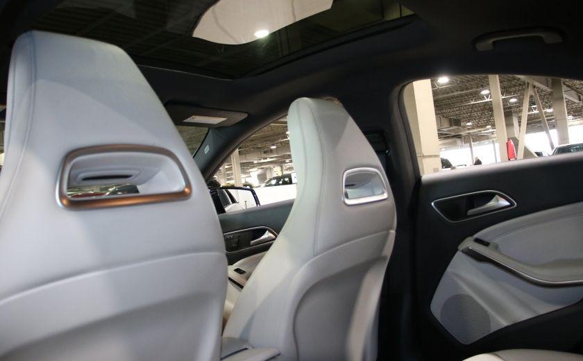 2016 Mercedes Benz CLA250 4MATIC CUIR GPS TOIT PANO #20