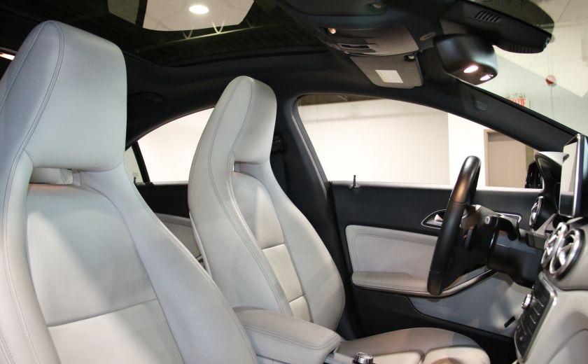 2016 Mercedes Benz CLA250 4MATIC CUIR GPS TOIT PANO #26