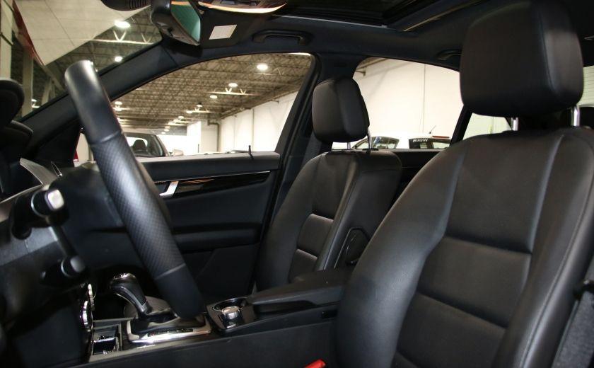 2014 Mercedes Benz C300 AWD AUTO A/C CUIR TOIT MAGS #9