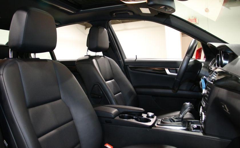 2014 Mercedes Benz C300 AWD AUTO A/C CUIR TOIT MAGS #25