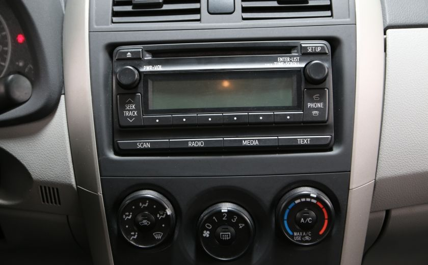 2013 Toyota Corolla CE AUTO A/C GR ELECT BLUETOOTH #11