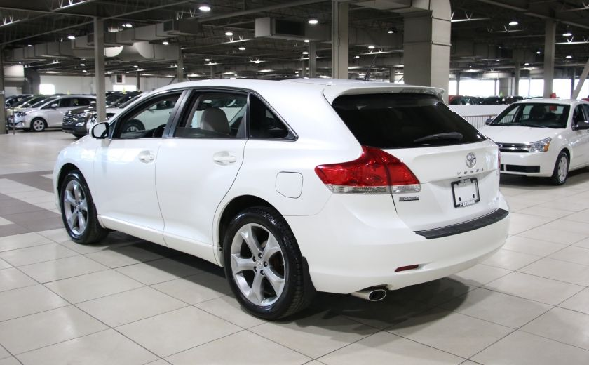 2012 Toyota Venza AWD AUTO A/C CUIR MAGS CAMERA RECUL #4