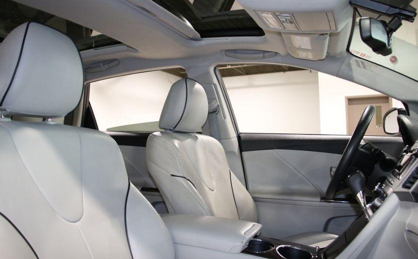 2012 Toyota Venza AWD AUTO A/C CUIR MAGS CAMERA RECUL #25