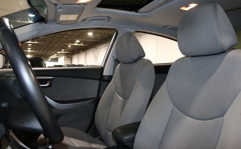 2013 Hyundai Elantra GLS A/C TOIT MAGS BLUETOOTH #8