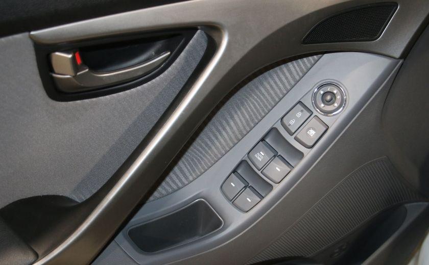 2013 Hyundai Elantra GLS A/C TOIT MAGS BLUETOOTH #9