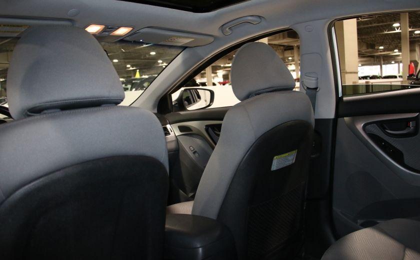 2013 Hyundai Elantra GLS A/C TOIT MAGS BLUETOOTH #17
