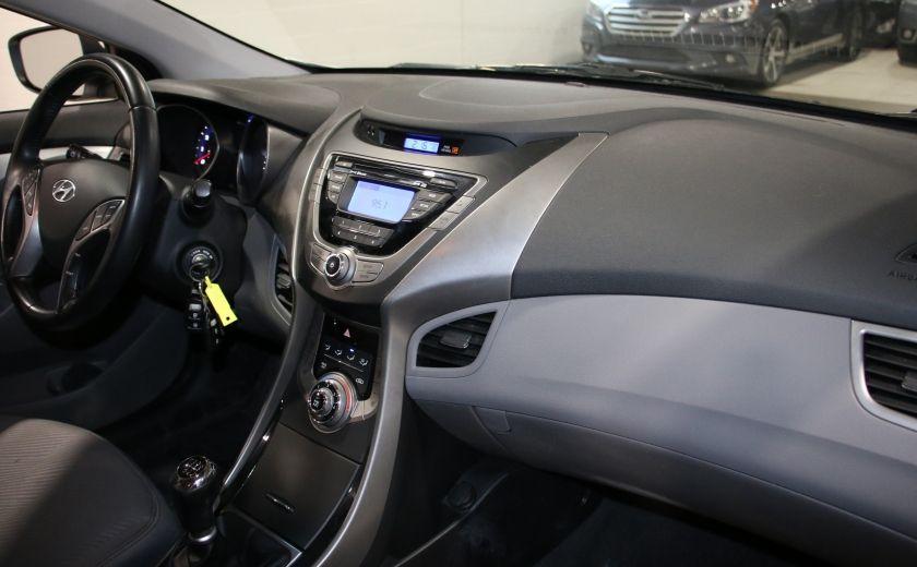 2013 Hyundai Elantra GLS A/C TOIT MAGS BLUETOOTH #21