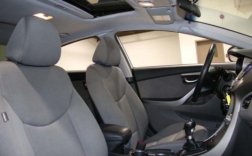 2013 Hyundai Elantra GLS A/C TOIT MAGS BLUETOOTH #23