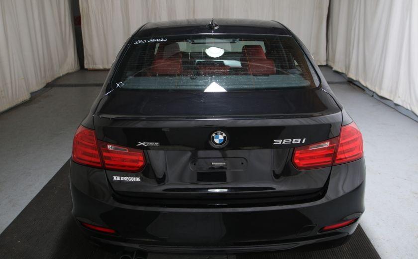 2013 BMW 328I 328i xDrive SPORT PACK AWD CUIR TOIT #4