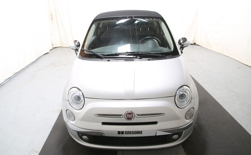 2013 Fiat 500 Lounge AUTO A/C CUIR TOIT MAGS #1