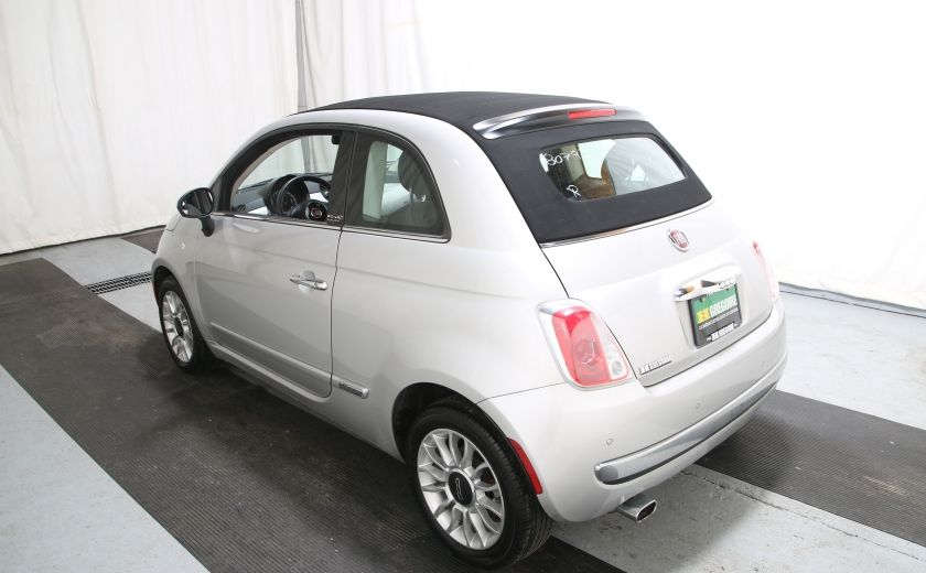 2013 Fiat 500 Lounge AUTO A/C CUIR TOIT MAGS #2