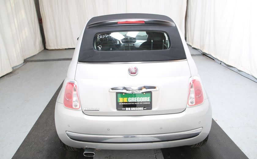 2013 Fiat 500 Lounge AUTO A/C CUIR TOIT MAGS #3