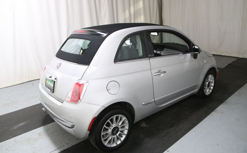 2013 Fiat 500 Lounge AUTO A/C CUIR TOIT MAGS #4