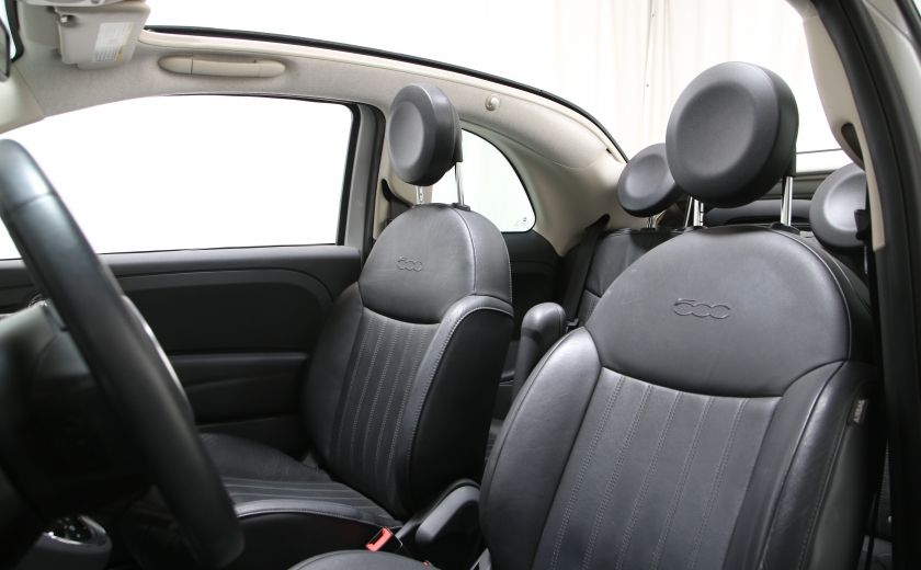 2013 Fiat 500 Lounge AUTO A/C CUIR TOIT MAGS #6
