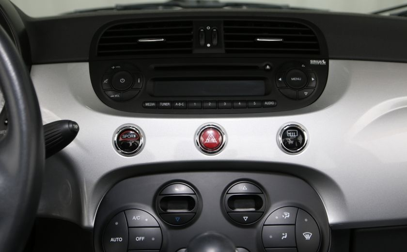 2013 Fiat 500 Lounge AUTO A/C CUIR TOIT MAGS #9