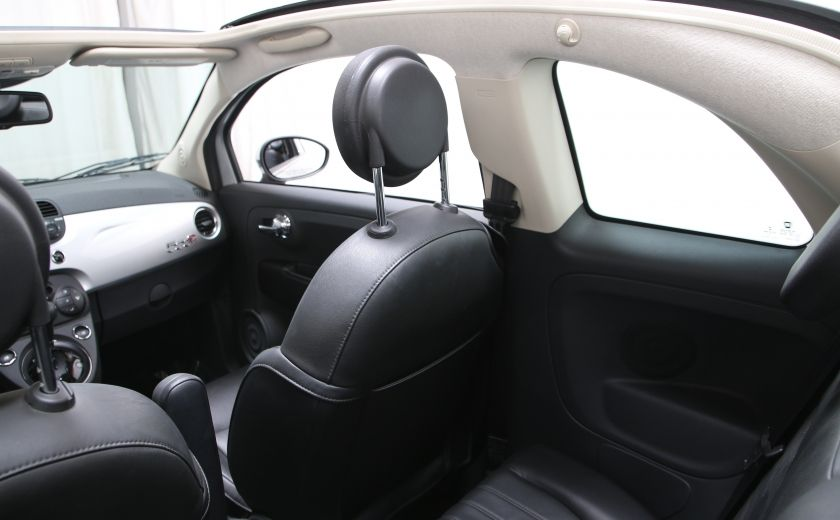 2013 Fiat 500 Lounge AUTO A/C CUIR TOIT MAGS #10