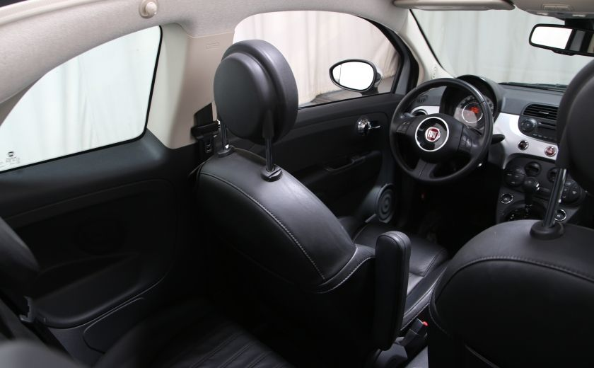 2013 Fiat 500 Lounge AUTO A/C CUIR TOIT MAGS #12