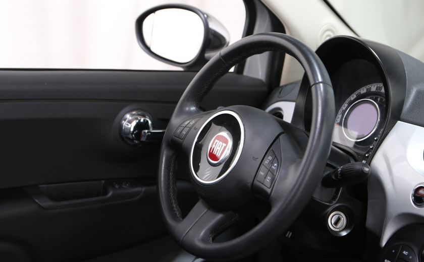2013 Fiat 500 Lounge AUTO A/C CUIR TOIT MAGS #15