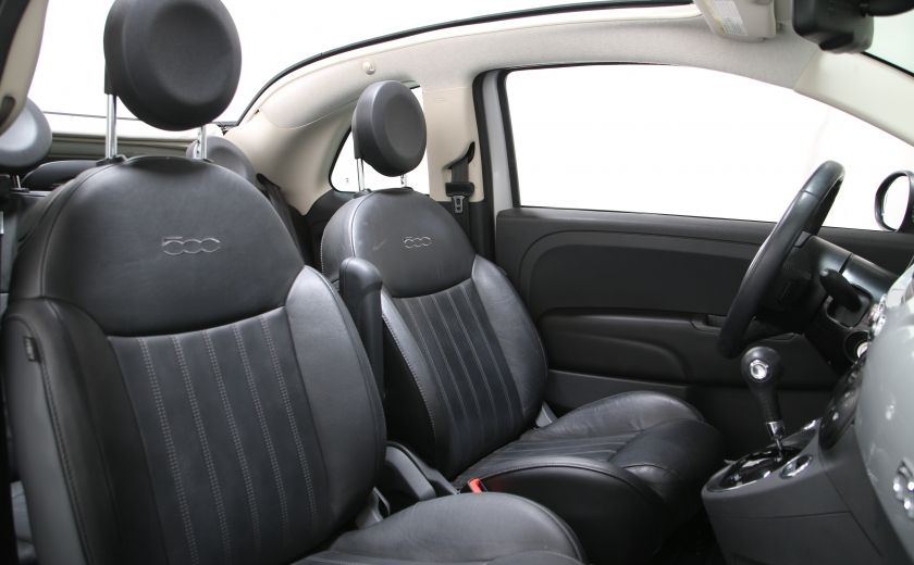2013 Fiat 500 Lounge AUTO A/C CUIR TOIT MAGS #16