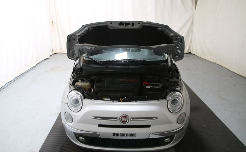 2013 Fiat 500 Lounge AUTO A/C CUIR TOIT MAGS #17