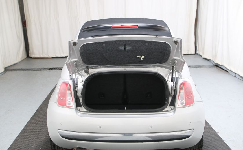 2013 Fiat 500 Lounge AUTO A/C CUIR TOIT MAGS #19