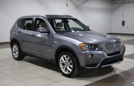 2013 BMW X3 28i AWD AUTO A/C CUIR TOIT PANO MAGS #0