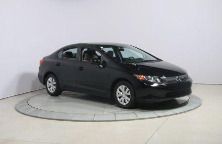 2012 Honda Civic LX AUTO A/C GR ELECT #0