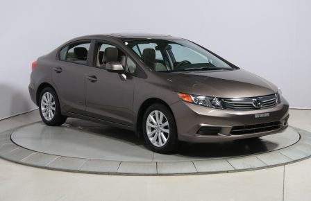 2012 Honda Civic EX A/C GR ELECT TOIT MAGS BLUETOOTH #0