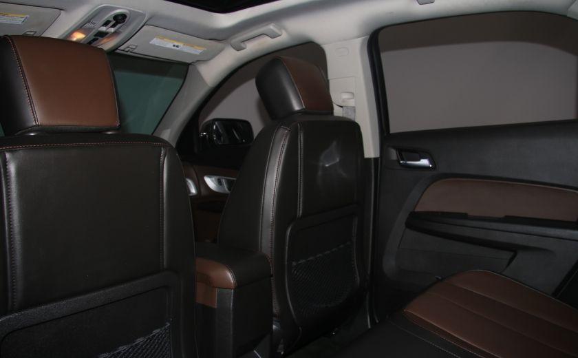 2012 Chevrolet Equinox LTZ AWD CUIR TOIT MAGS CAMERA RECUL #20