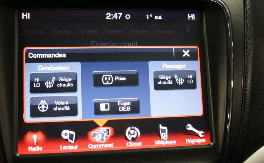 2014 Dodge Journey Crossroad AUTO CUIR TOIT MAGS #11