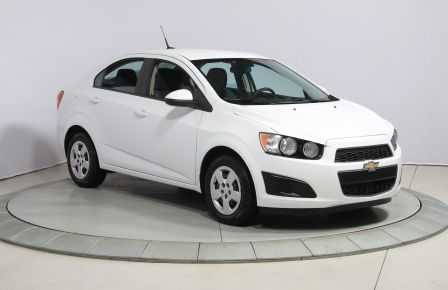 2013 Chevrolet Sonic LS A/C GR ELECT BLUETOOTH #0