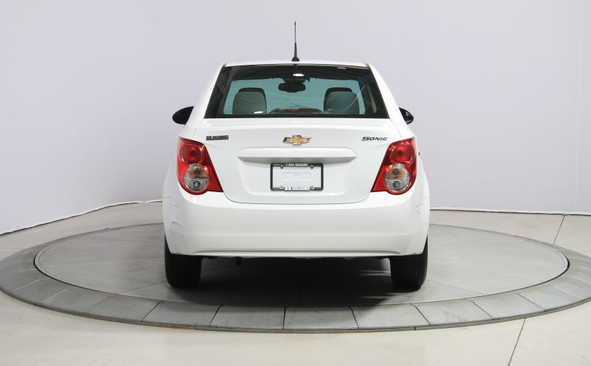 2013 Chevrolet Sonic LS A/C GR ELECT BLUETOOTH #5