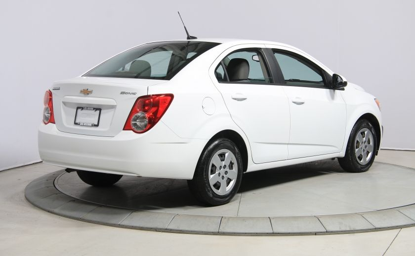 2013 Chevrolet Sonic LS A/C GR ELECT BLUETOOTH #6