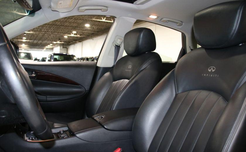 2010 Infiniti EX35 AWD AUTO A/C CUIR TOIT MAGS CAMERA RECUL #9