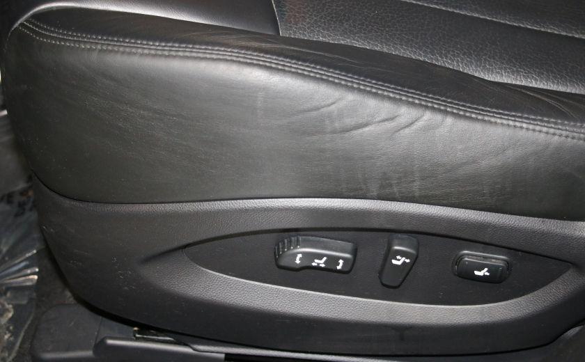2010 Infiniti EX35 AWD AUTO A/C CUIR TOIT MAGS CAMERA RECUL #11
