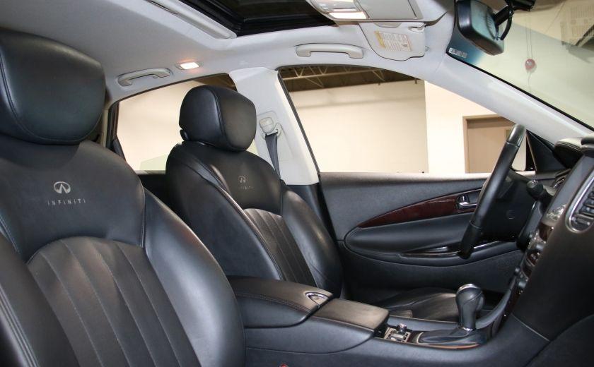 2010 Infiniti EX35 AWD AUTO A/C CUIR TOIT MAGS CAMERA RECUL #26