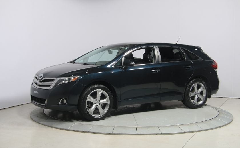 2013 Toyota Venza AWD CUIR TOIT MAGS BLUETOOTH #0