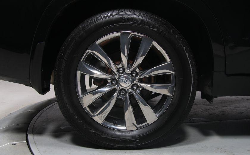 2013 Kia Sorento SX V6 AWD 7PASS NAV CAMERA RECUL #24