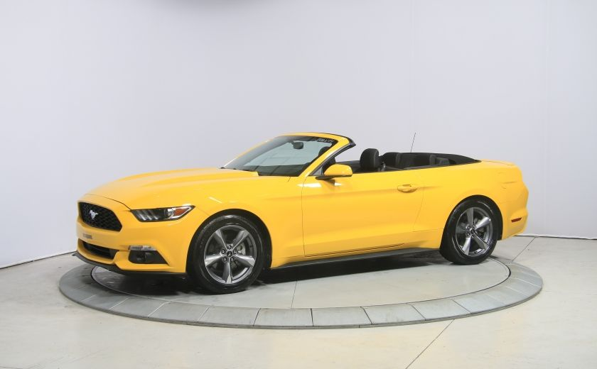 2016 Ford Mustang CONVERTIBLE V6 AUTO A/C GR ELECT MAGS BLUETHOOT #2
