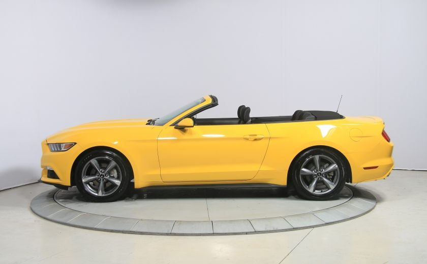 2016 Ford Mustang CONVERTIBLE V6 AUTO A/C GR ELECT MAGS BLUETHOOT #3