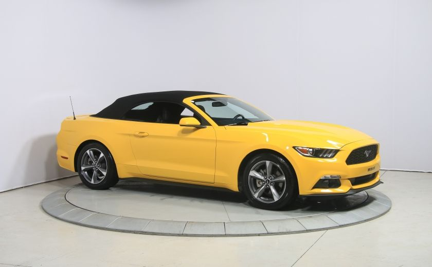 2016 Ford Mustang CONVERTIBLE V6 AUTO A/C GR ELECT MAGS BLUETHOOT #8