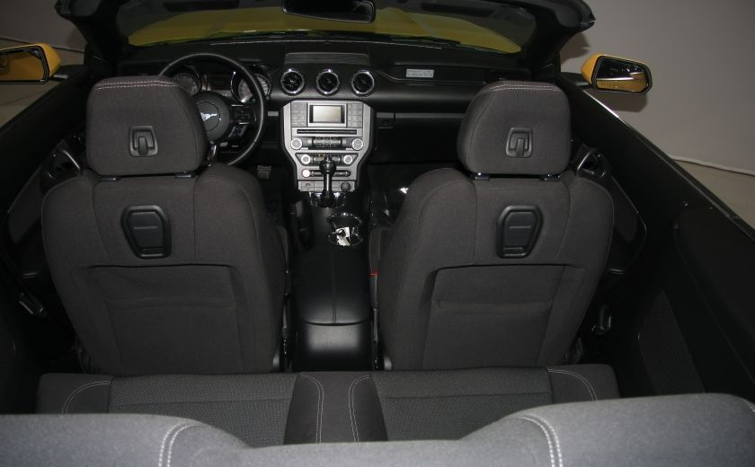 2016 Ford Mustang CONVERTIBLE V6 AUTO A/C GR ELECT MAGS BLUETHOOT #25