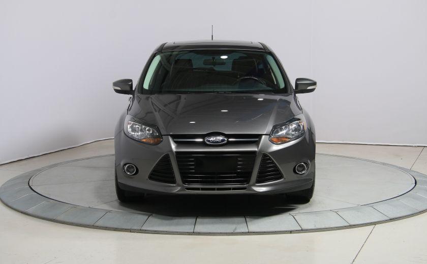 2013 Ford Focus TITANIUM AUTO A/C CUIR TOIT NAV MAGS BLUETHOOT #1